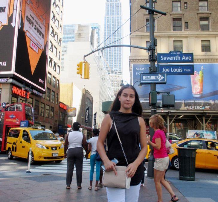 Ильвина Ненашева живёт и тренируется в Нью-Йорке!