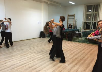 бальные танцы-летняя практика