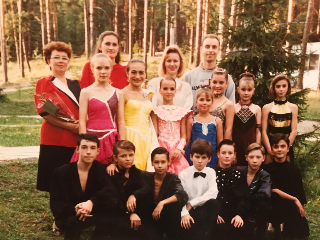 Самые первые сборы клуба. 1996 год, г. Павлово